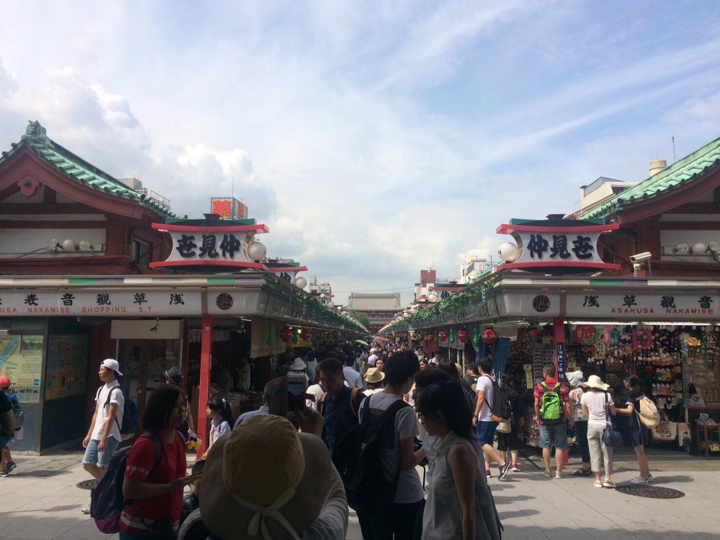 東京観光(^^♪